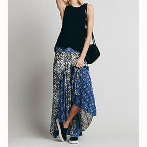 Free People Show You Off Hi-Low Maxi Skirt